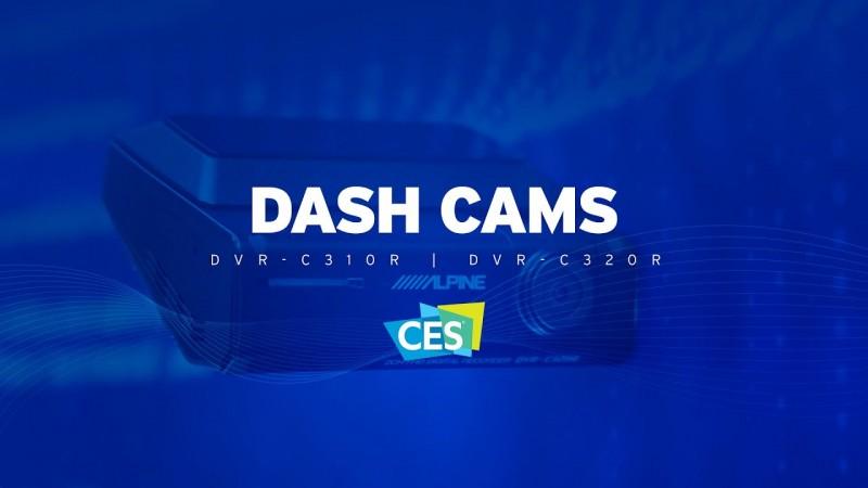 Alpine | CES 2020 | Dash Cams | DVR-C310R & DVR-C320R