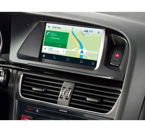 """Информационно-развлекательная система 7"""" для Audi A4 с картами TomTom и поддержкой Apple CarPlay и Android Auto"""