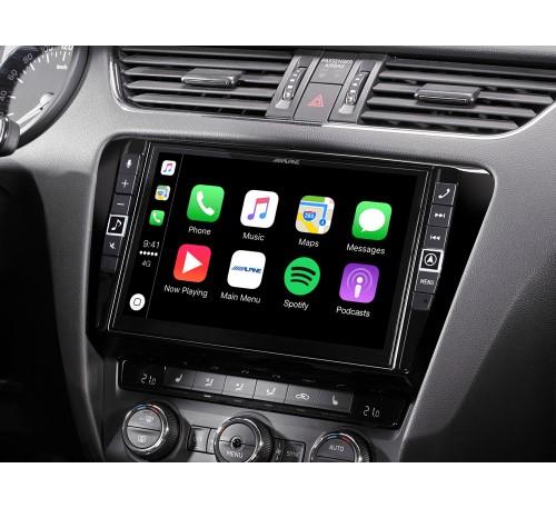 """Информационно-развлекательная система 9"""" для Skoda Octavia 3 с поддержкой Apple CarPlay и Android Auto"""